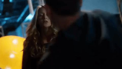 Kara Danvers/Supergirl and Mon-El fighting. I loved this scene/episode, because it was the first time you really see how *gasp* flawed a character Kara is (and not just when the Red K's brought out). It made her a little less Miss Perfect & gave her a LOT more depth. |TV Shows||CW's Supergirl||Gifs||Kara x Mon-El||Fight gif||#Karamel||Supergirl 2x03||Melissa Benoist||Chris Wood||#DCTV|