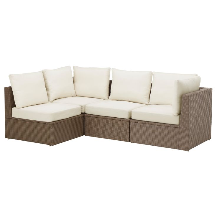 ARHOLMA Sofa combination - IKEA @550 for across from the little one. Yes, that's a LOT of seating.