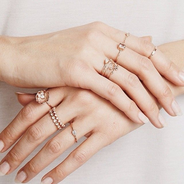Delicate Rings Jewelry