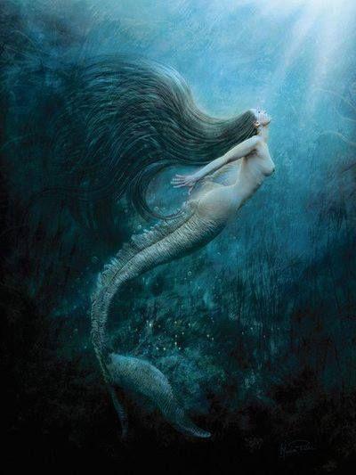 Sirène aux longs cheveux                                                                                                                                                      Plus