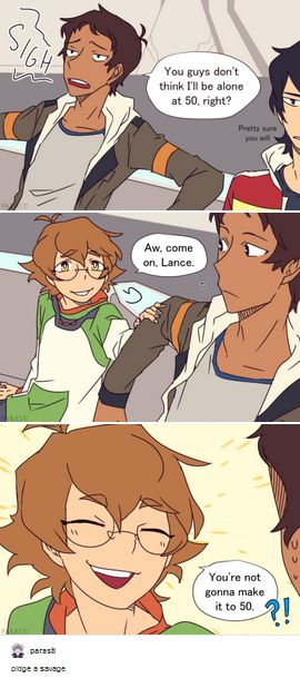 VLD fan art - Savage Pidge is on point! << You could even say she's.... savidge? Ba-dum-tss!