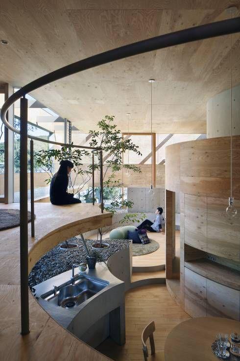 Pit house: UIDが手掛けたキッチンです。