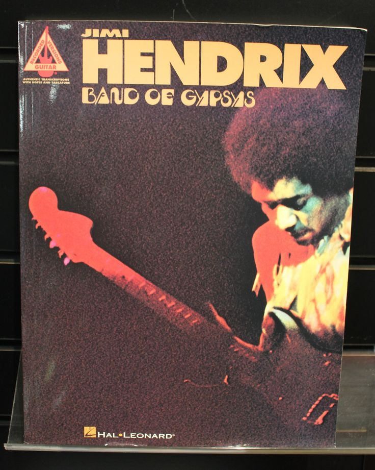 Jimi Hendrix: Band of Gypsys Guitar Recorded Versions TAB Songbook