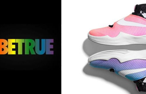 """Nike faz coleção para celebrar o mês do orgulho gay   A NIKE lançou recentemente a coleção """"Be True Collection"""" uma linha especial de tênis e roupas que chegou as lojas dos Estados Unidos da America somente os símbolos escolhidos para homenagear o movimento LGBTQ são a bandeira de arco-íris o triangulo rosa e negro de ponta cabeça. Os modelos ficaram super estilosos e modernos. Quem estiver na gringa vale a pena comprar seu par de tênis novo.  MODA NIKE SHOES"""