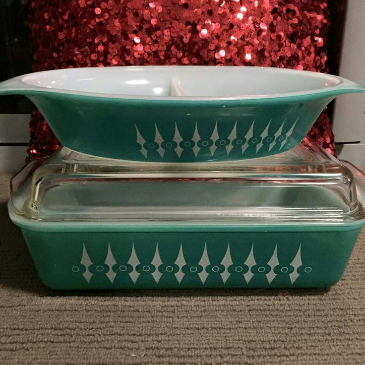 Agee Pyrex Picket Fence - beautiful!
