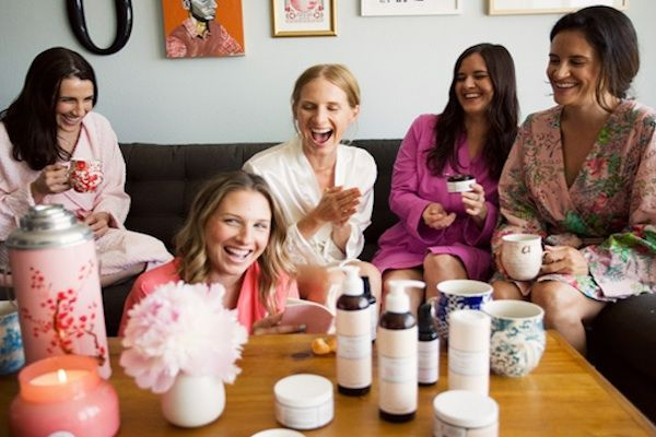 Spa Bridal Shower... wish I had time to plan this.