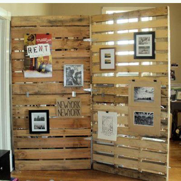 1000 ideas creativas para el reciclado de palets de madera | BricoBlog
