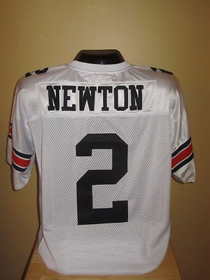 Cam Newton Auburn Tigers College Football Jersey Size 50 (L) Rookie of the Year