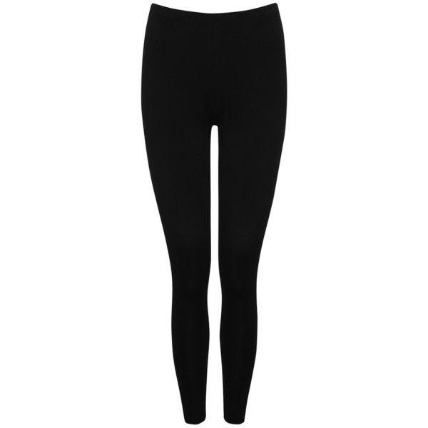 M&Co Petite Plain Leggings ($19) ❤ liked on Polyvore featuring pants, leggings, bottoms, jeans, black, petite, black trousers, petite trousers, petite pants and black pants