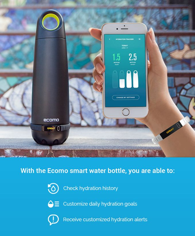 Shake to test, twist to filter: A Smart Bottle that helps you to get rid of contaminants