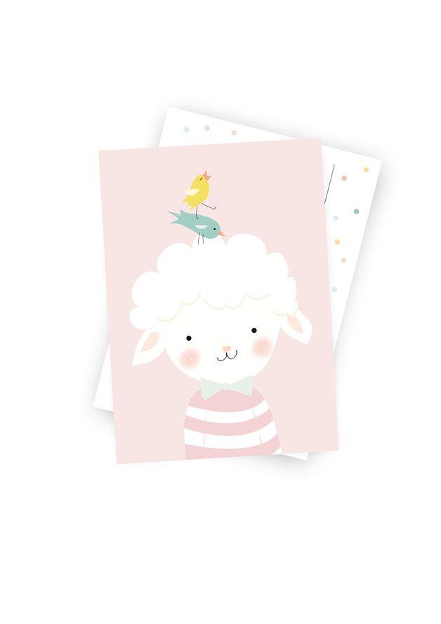 Illustration, Offsetdruck auf hochwertigem 300g Karton.     Endlich sind sie da :-)! Die Postkarten, machen sich nicht nur als Post gut, sondern auch an der Wand im Kinderzimmer. Sie haben das...