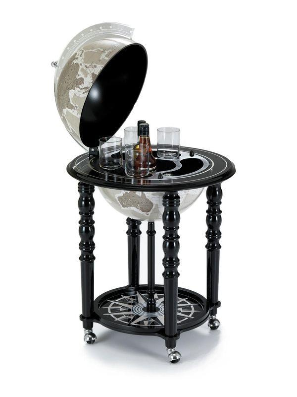 Globe Drinks Cabinet Black