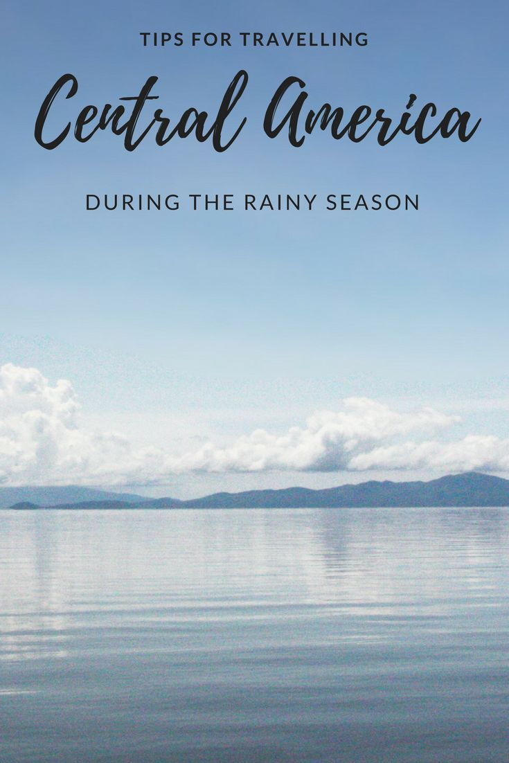 Is it worth travelling Central America during the rainy season? I spent three months in Costa Rica, Nicaragua, Guatemala and Mexico during the rainy season and it was definitely worth it! Check out m travel tips for rainy season in Central America!