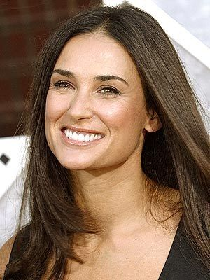 Demi Moore / She looks really happy here.
