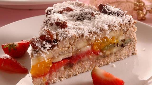 Zdravá ovocná torta