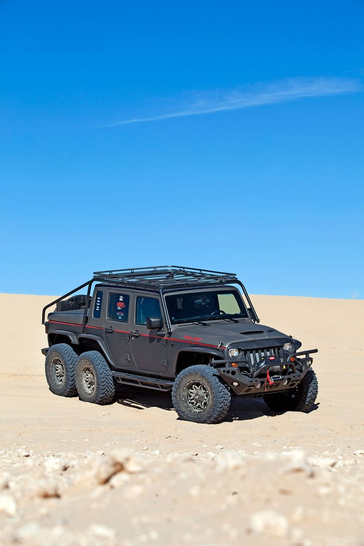 011 Wild Boar 2012 Jeep Wangler JK Hellcat 6x6