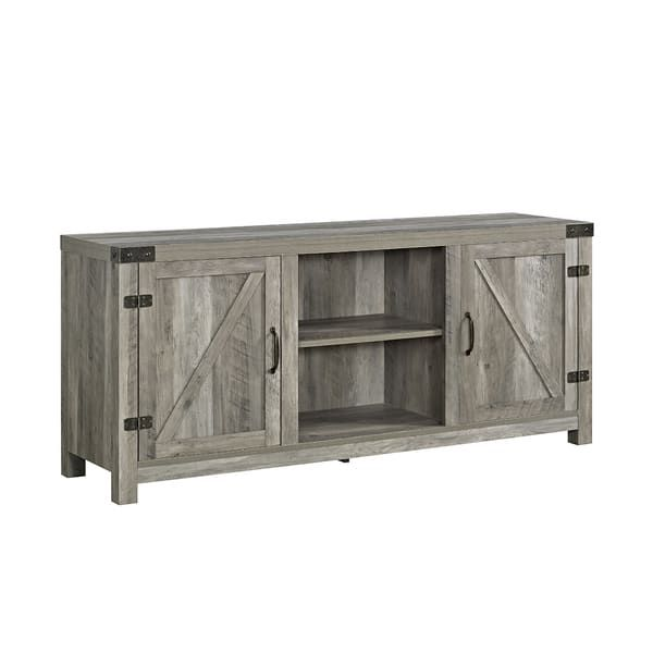 best 25 barn door tv stand ideas on pinterest diy tv stand tv wall decor and farm house. Black Bedroom Furniture Sets. Home Design Ideas