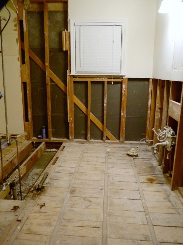 Toilets, tile and demolition hammers, oh my {Part 3} - C.R.A.F.T.