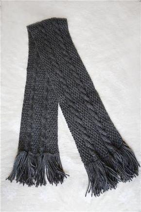 Bufanda de lana chico