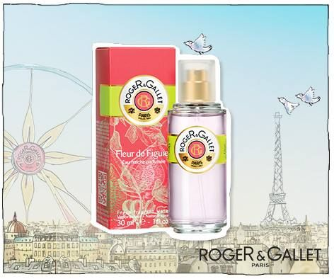 Fleur de figuier or fig flower is a sweet eau de toilette from Roger and Gallet Paris and you can buy it in the USA