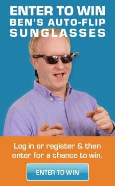 Win Ben Heck's Auto-Flip Sunglassses!