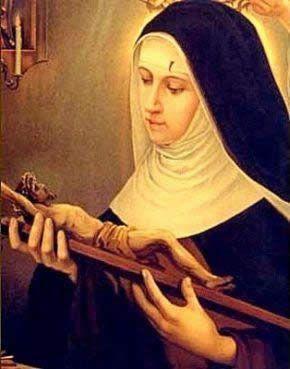 Santa Rita de Cássia. Conheça a história, milagres, oração, devoção e medalhas de Santa Rita de Cássia.