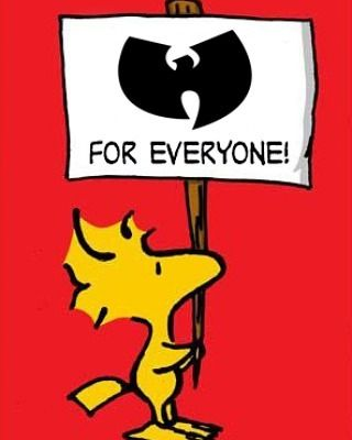 Wu Tang Clan for Everyone - Peanuts gang @EnspiredVisions