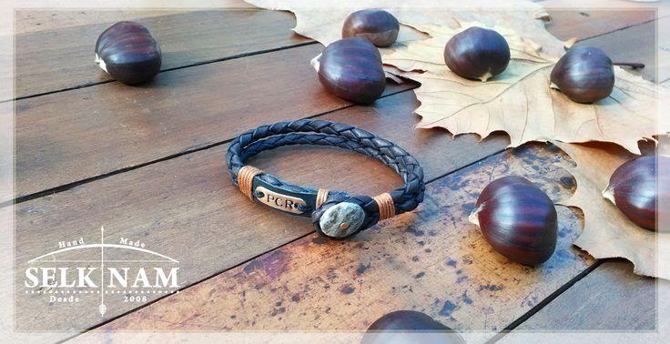 """Unica es nuestra pulsera """"'Avellana"""" mas aun personalizada por nuestros clientes ♥ Encuéntranos en Facebook SelkNam handmade"""