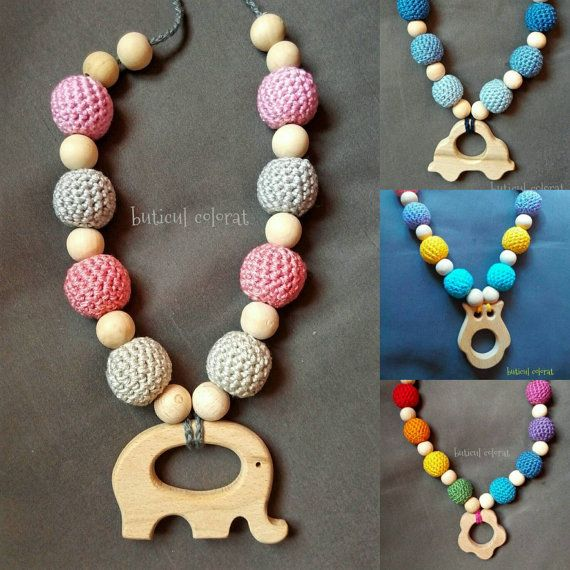 Check out this item in my Etsy shop https://www.etsy.com/listing/454658366/wooden-teether-toy-nursing-necklace