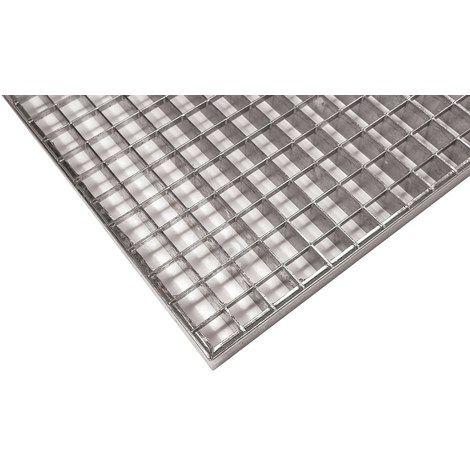Grille caillebotis industriel pressé 30/30 galvanisé - 1516132 - Revêtement sol et mur