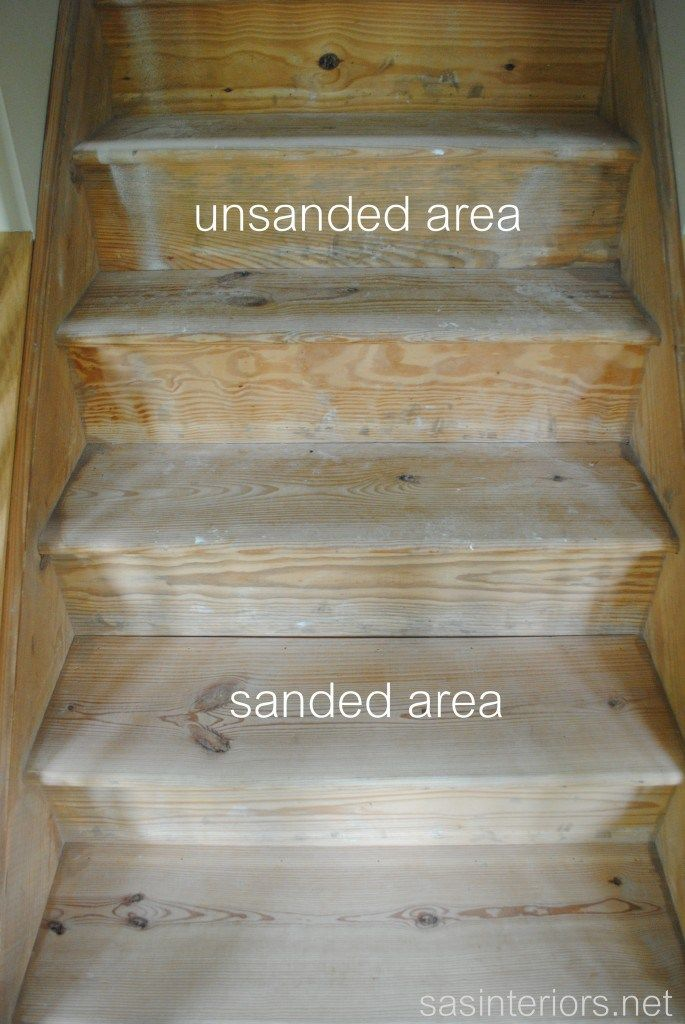 Carpeted Stairs To Wood Sanding The