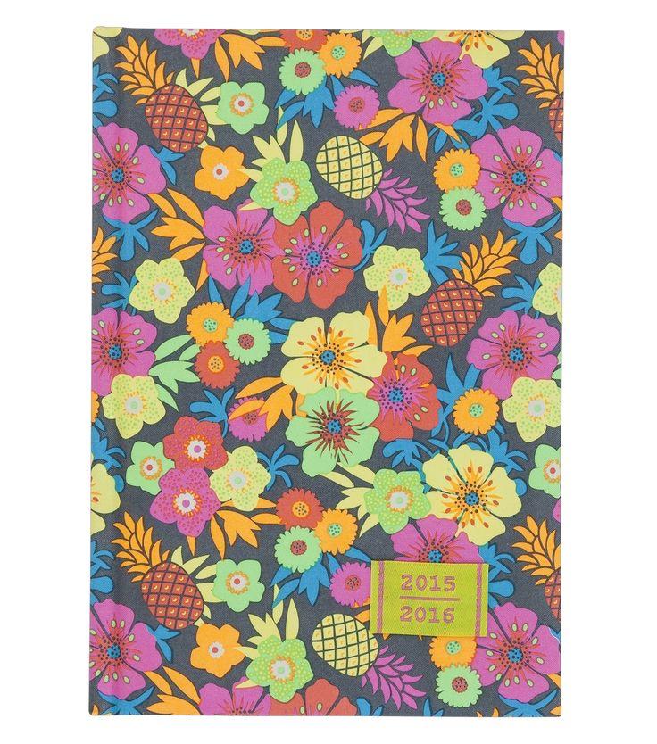 Pattern design for Hema Back to school notebook by Silvia Dekker