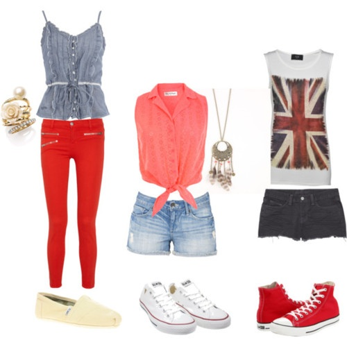 One Direction inspired outfits. I love the far right!!!