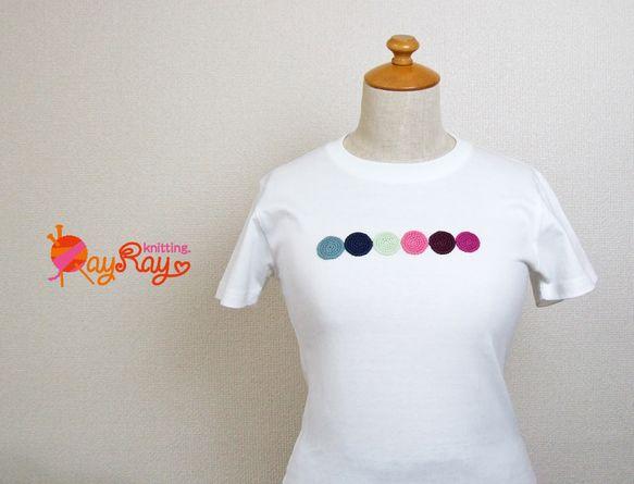 昨年、手づくり市のみで販売していた、モチーフワッペンのTシャツ!!サイズは140cmのジュニア用ですがレディースSサイズの方でもOK☆(画像ボディサイズ9号)...|ハンドメイド、手作り、手仕事品の通販・販売・購入ならCreema。