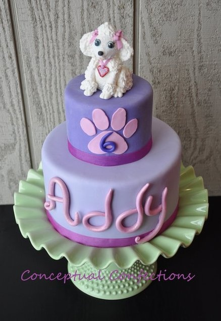 25 Best Ideas About Puppy Birthday Cakes On Pinterest