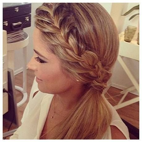 Pleasing 1000 Images About Hairstyles On Pinterest Side Braid Short Hairstyles Gunalazisus