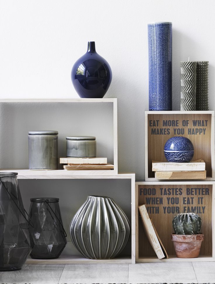 New season trend - Silent Blue #inspirationdk #vase #blue #Broste #Design #Boliginretning