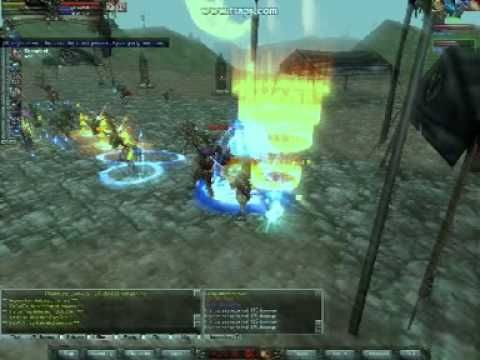 Knights Online-The tanking of the human base