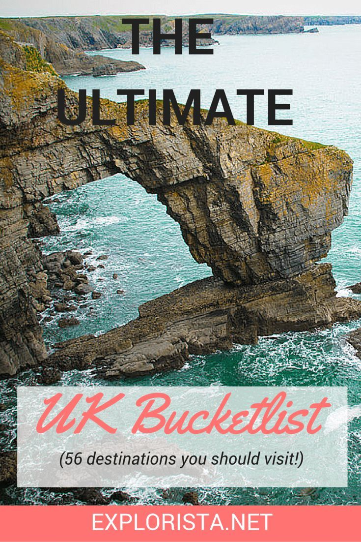 Soon I will be making some road trips through the country! This is the ultimate Great Britain bucket list: 56 dream places you should not miss.: