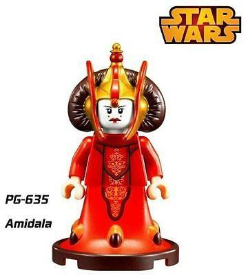 Star Wars REina Amidala minifigura personalizada