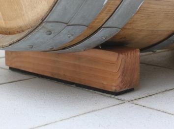 Fabrication des pieds et chaise barrique finie !