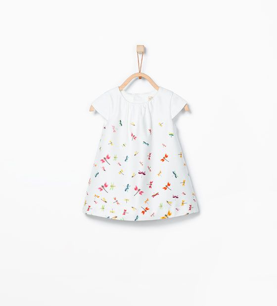 Image 1 of dragonfly print dress from zara mini me - Zara kids online espana ...