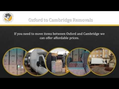 Oxford to Cambridge Removals
