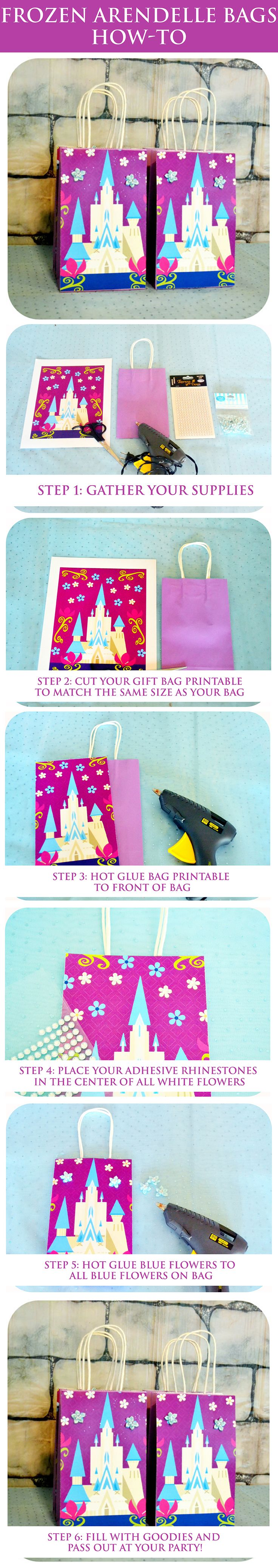 Learn how-to make the Frozen Arendelle bags like Krafts by Kaleigh! Expand your…