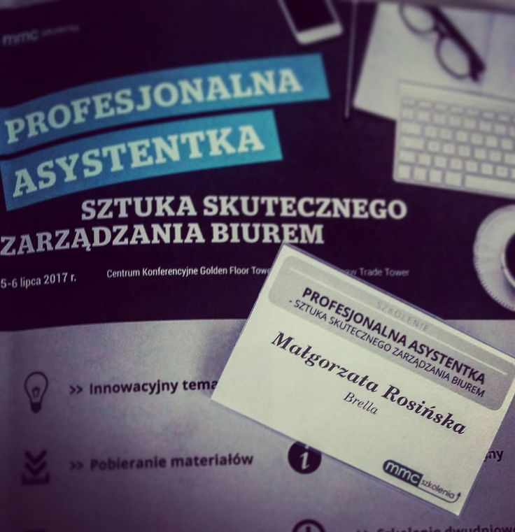 Szkolimy się!  #brella #levelup #bepro #effectiveworking #officemanagers #virtualassistants #support #concierge