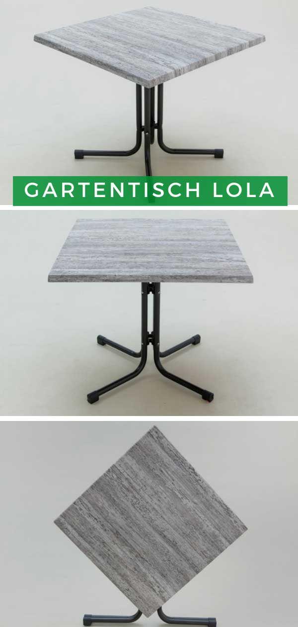 Styna Gartentisch Lola 70x70 Gartentisch Tisch Und Garten