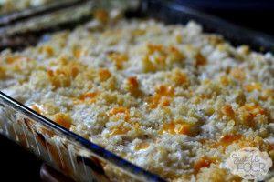 Creamy Cheesy Party Potatoes | FaveSouthernRecipes.com