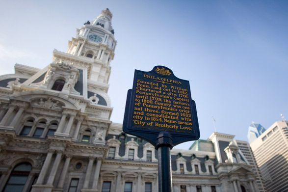 Philadelphia City Hall  The largest municipal building in the country and the finest example of the Second Empire style