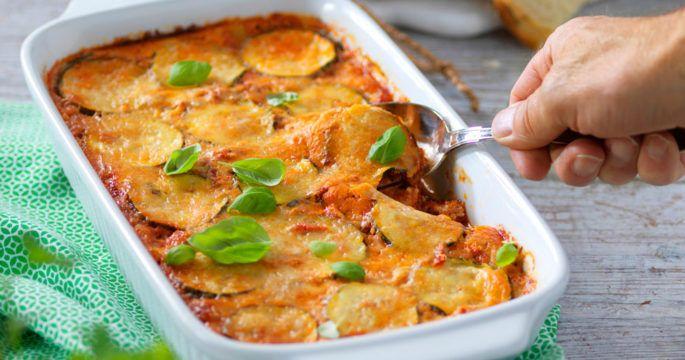 zucchini gratäng recept
