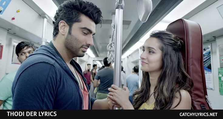 Thodi Der Lyrics: Here is the latest awesome and heart touching romantic Hindi song lyrics released from the upcoming movie Half Girlfriend. This song released...[ReadMore..]